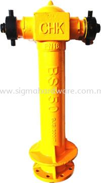 Ductile Iron Pillar Hydrant Pillar Hydrant, Duck Foot Bend, Chamber Valves Selangor, Malaysia, Kuala Lumpur (KL), Ampang Supplier, Suppliers, Supply, Supplies | SIGMA Hardware Sdn Bhd