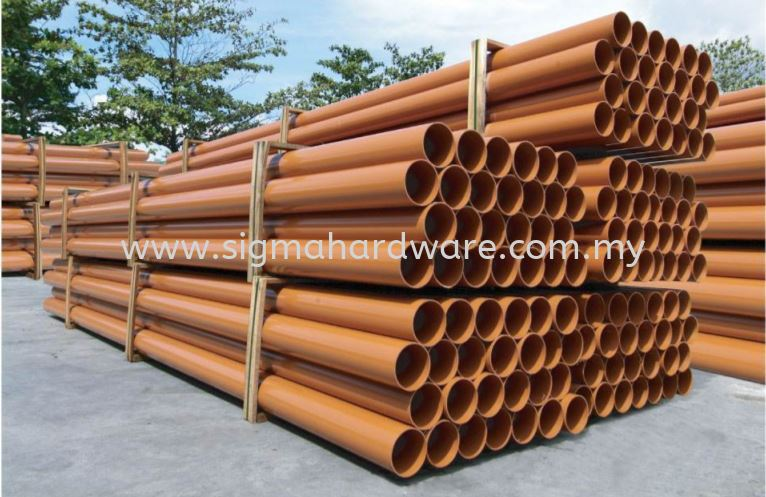 uPVC Underground Sewerage Pipe PVC & UPVC Pipes Selangor, Malaysia, Kuala Lumpur (KL), Ampang Supplier, Suppliers, Supply, Supplies | SIGMA Hardware Sdn Bhd