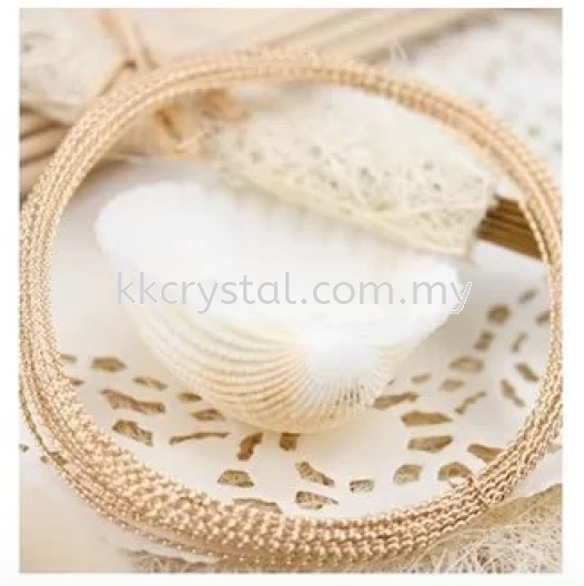 Suasa (Gold Filled), Twist Wire, 0.7mm Wire  Suasa (Gold Filled)  Kuala Lumpur (KL), Malaysia, Selangor, Klang, Kepong Wholesaler, Supplier, Supply, Supplies | K&K Crystal Sdn Bhd