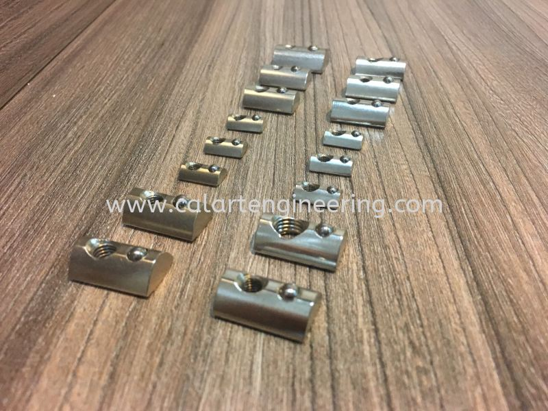 Half Round Nut Screw And Nut Aluminium Accessories Puchong, Selangor, Malaysia Supply Supplier Suppliers | Calart Engineering Sdn Bhd