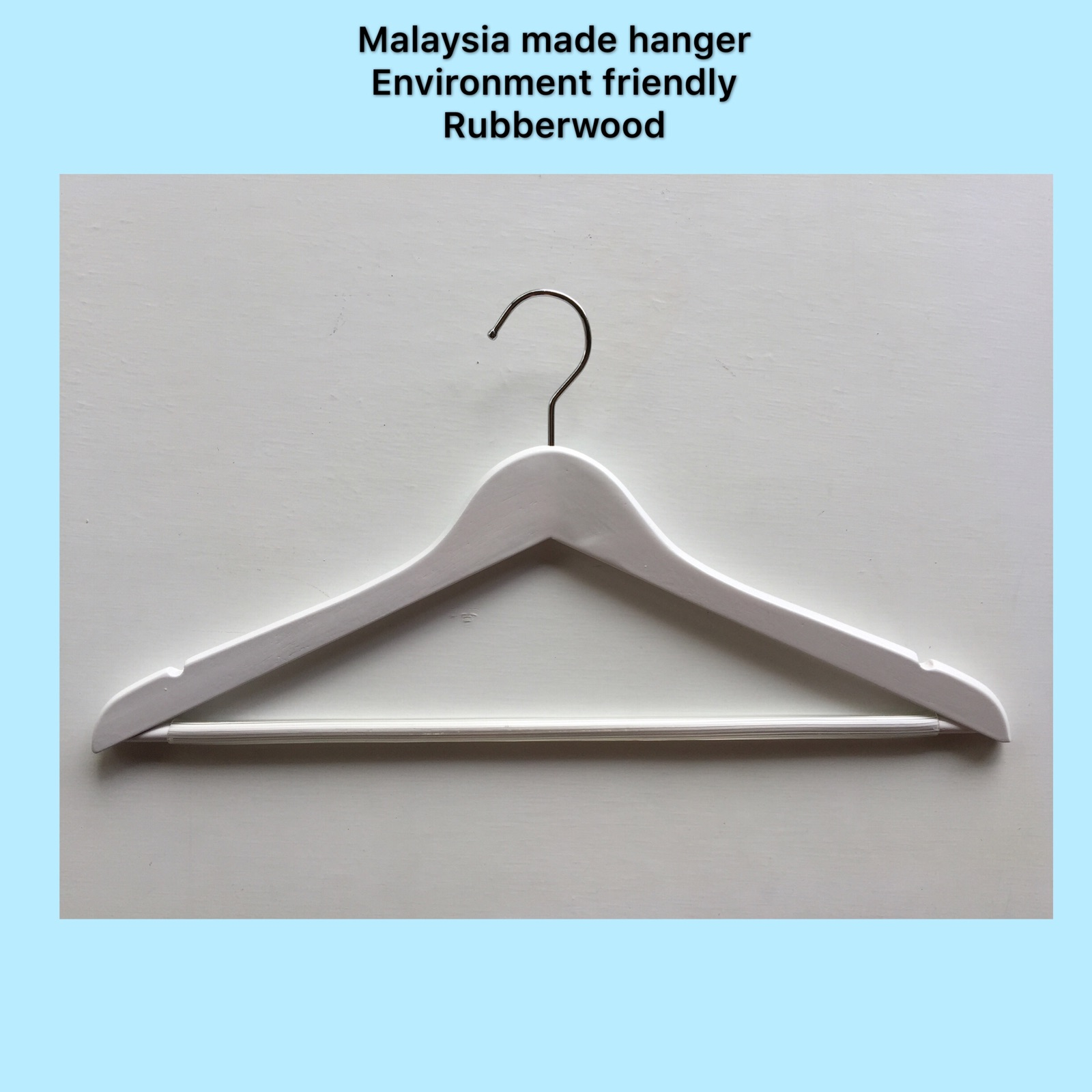 Antitheft Wooden Clothes Hanger