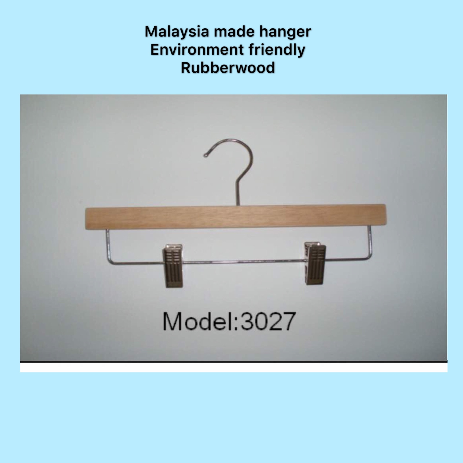 Model: AT8012 Hanger With Bar