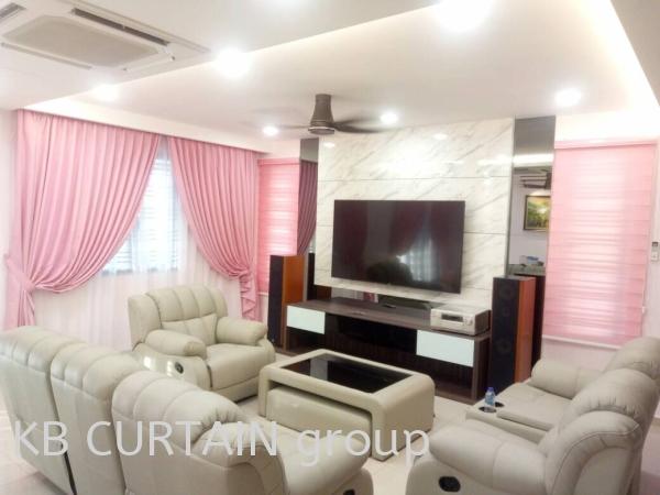 Sunblock Curtain Curtain Johor Bahru (JB), Malaysia, Singapore, Mount Austin, Skudai, Kulai Design, Supplier, Renovation | KB Curtain & Interior Decoration