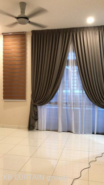 Sunblock Curtain Curtain Johor Bahru (JB), Skudai, Singapore Design, Supplier, Renovation | KB Curtain & Interior Decoration