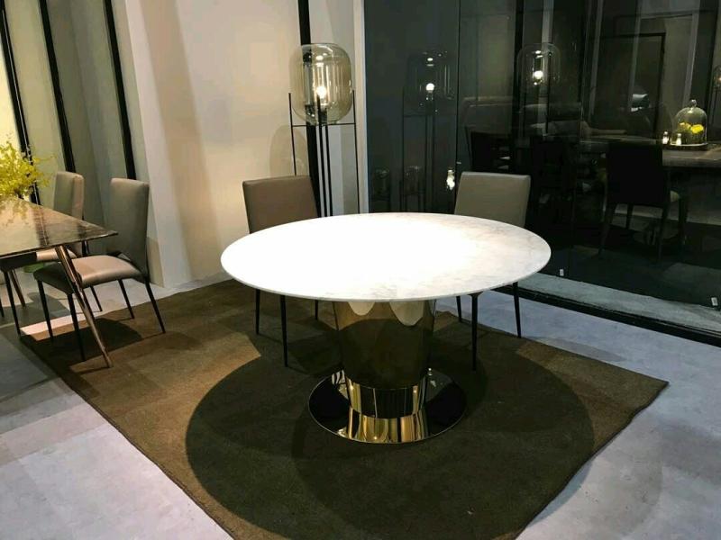 White Marble - Arabescato Piana Marble Marble Dining Table Selangor, Kuala Lumpur (KL), Malaysia Supplier, Suppliers, Supply, Supplies | DeCasa Marble Sdn Bhd
