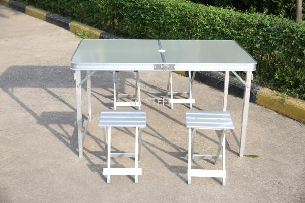 ALUMINIUM TABLE Aluminium Folding Table Malaysia, Selangor, Kuala Lumpur (KL), Rawang Manufacturer, Supplier, Supply, Supplies | GY Steel Furniture Sdn Bhd