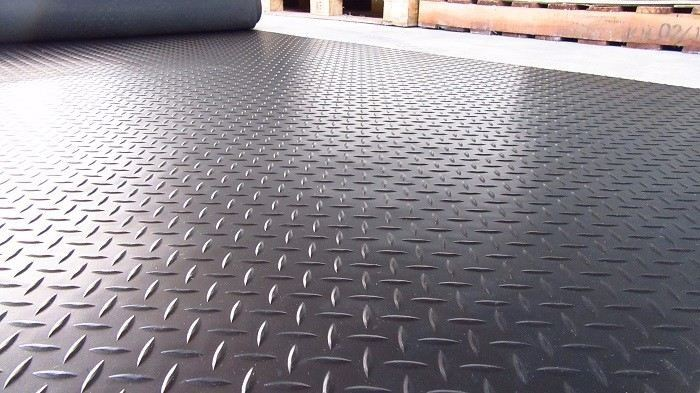 Checker Plate Rubber Flooring Checker Plate Rubber Flooring Rubber Mat Malaysia, Penang Supplier, Suppliers, Supply, Supplies | YGGS World Sdn Bhd