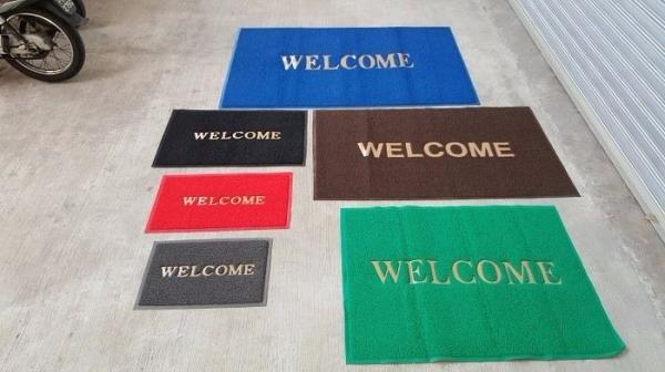 Welcome Floor Mat Welcome Floor Mat PVC Coil Tikar Malaysia, Penang Supplier, Suppliers, Supply, Supplies | YGGS World Sdn Bhd