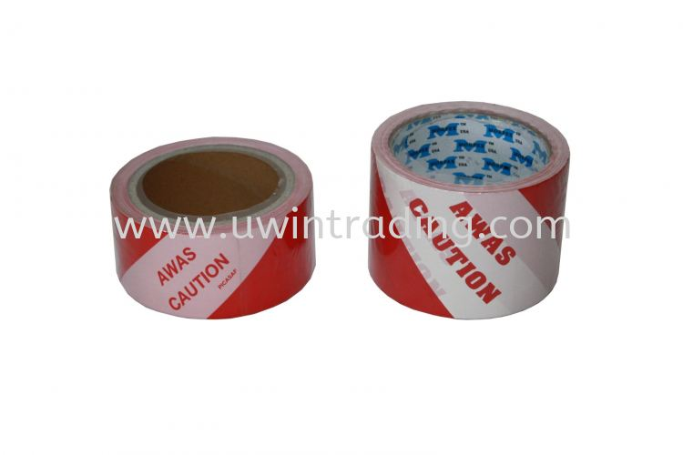 Awas Caution Tape - Red & White