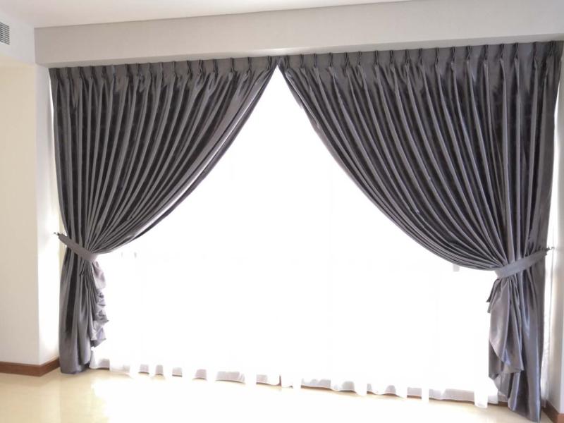 Puteri Cove Condo Day & Night Curtain    Supplier, Suppliers, Supplies, Supply | Kim Curtain Design & Decorating Enterprise