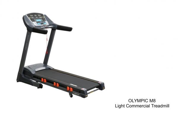 OLYMPIC M8 Light Commercial Treadmill  Treadmill Cardio Home Used Exercise Penang, Malaysia, Perak, Jelutong, Ipoh Supplier, Supply, Supplies, Setup | Arah Bumiraya Sdn Bhd/Olympic Sports & Fitness Sdn Bhd
