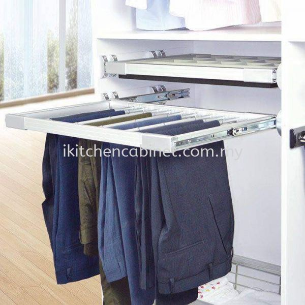 WA5 - pants rack Wardrobe Accessories  Kitchen & Wardrobe Accessories Selangor, Malaysia, Kuala Lumpur (KL), Puchong Supplier, Suppliers, Supply, Supplies | i-Kitchen Cabinet Sdn Bhd