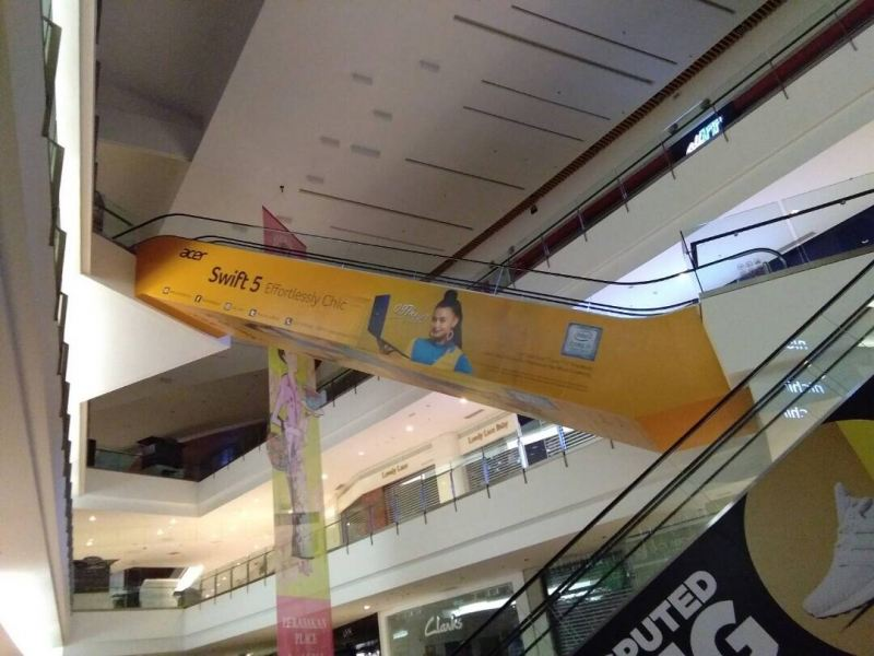 IOI City Mall Acer Escalator Wrapping Sticker Inkjet Wallpaper Printing Klang, Selangor, Kuala Lumpur, KL, Malaysia. Supplier, Suppliers, Supplies, Supply | D Well Advertising (M) Sdn Bhd