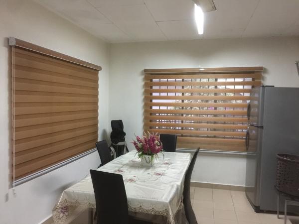 Black Out Zebra Blind And Rainbow Blind Johor Bahru (JB), Malaysia, Tampoi Supplier, Suppliers, Supplies, Supply | Kim Curtain Design Sdn Bhd