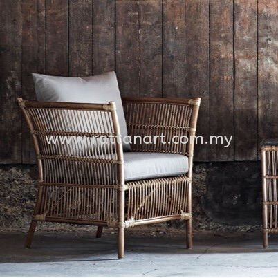 RATTAN SOFA PIANO - 1 SEATER