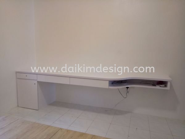 Writing table / Cupboard 007 Writing Table / Cupboard Kulai Johor Bahru JB Design | Daikim Design