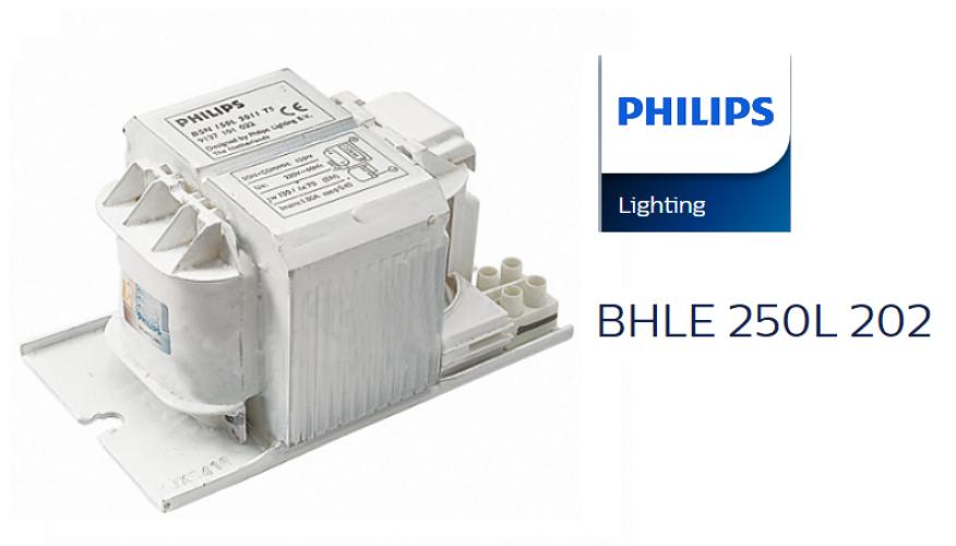 PHILIPS BHLE 250L 202 METAL HALIDE CHOKE