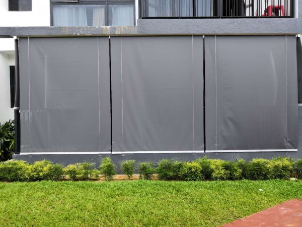 Outdoor Blind At Singapore Jurong   Supplier, Suppliers, Supplies, Supply | Kim Curtain Design Sdn Bhd