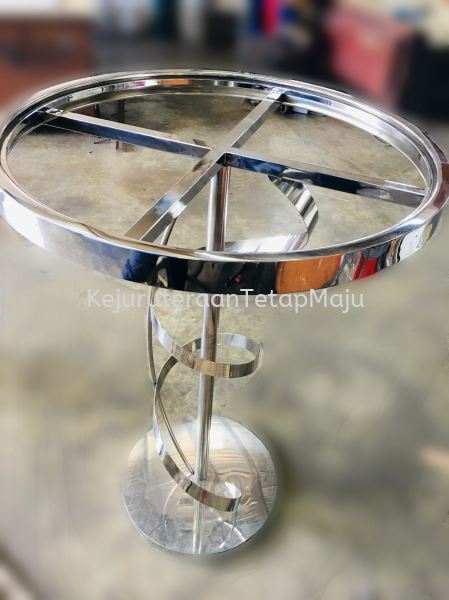 Single Spiral Table  Table Stand (Stainless steel, Steel) Custom Made (All Kind Of Steel, Stainless Steel, Metal) Selangor, Malaysia, Kuala Lumpur (KL), Kajang Services, Works | Kejuruteraan Tetap Maju Sdn Bhd