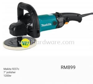 "MAKITA 9237C 7"" POLISHER 1200W"