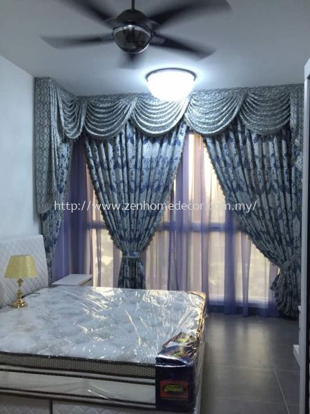 Scallop Curtain & Lace Selangor, Malaysia, Kuala Lumpur (KL), Puchong, Shah Alam Supplier, Suppliers, Supply, Supplies | Zen Home Decor