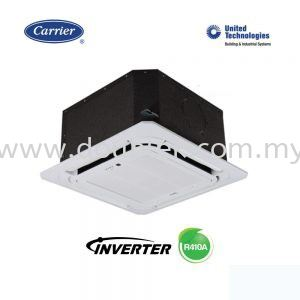 42KTD018VS / 38KUS018VS (2.0HP R410A Inverter) Ceiling Cassette Carrier Johor Bahru JB Malaysia Supply, Installation, Repair, Maintenance | Double K Air Conditioning & Engineering Sdn Bhd