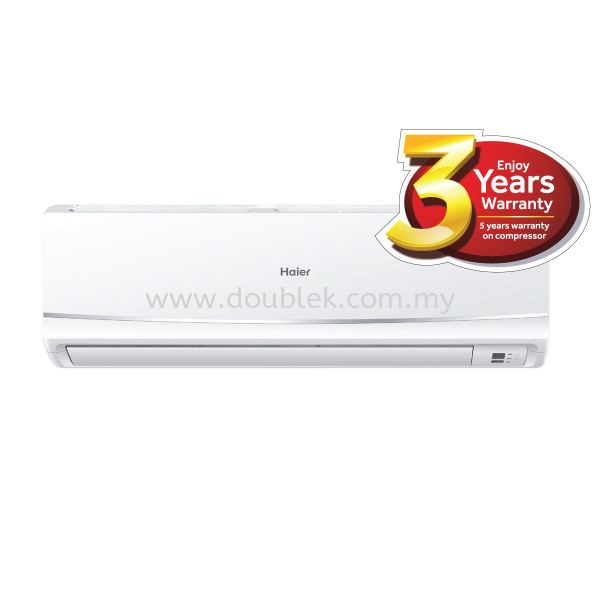 HSU-09LRA15 (1.0HP R410A Non-Inverter) Non-Inverter Haier Johor Bahru JB Malaysia Supply, Installation, Repair, Maintenance | Double K Air Conditioning & Engineering Sdn Bhd