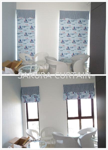 Roman Blinds Window Blinds Selangor, Malaysia, Kuala Lumpur (KL), Cheras Supplier, Suppliers, Supply, Supplies | Sakura Curtain House