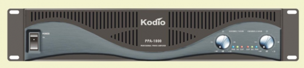 PPA Series Power Amplifiers (PPA-0600/1000/1800) Kodio Audio System Audio Visual System Selangor, Malaysia, Kuala Lumpur (KL), Puchong Supplier, Installation, Supply, Supplies | Unique Amp Sdn Bhd
