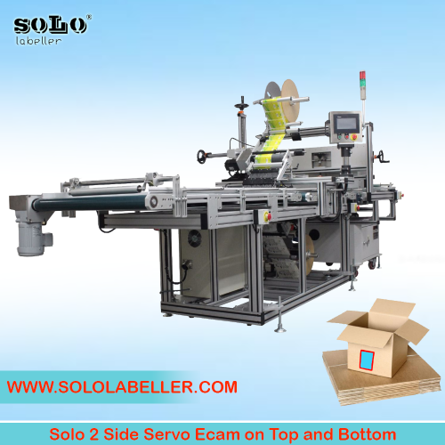 Two(2) Side Servo Ecam on Top and Bottom Labelling Machine (Customized Machine)