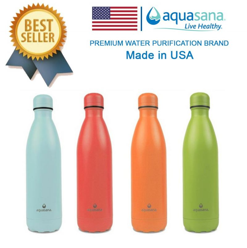 AQUASANA 25 OZ./750 ML Stainless Steel Insulated Bottle Thermos Bottle Thermos Flask