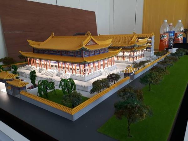 金马仑天后宫 金马仑天后宫 Others Building Model Layout Malaysia, Penang Building, Model, Maker, Services | Eight A Model Sdn Bhd