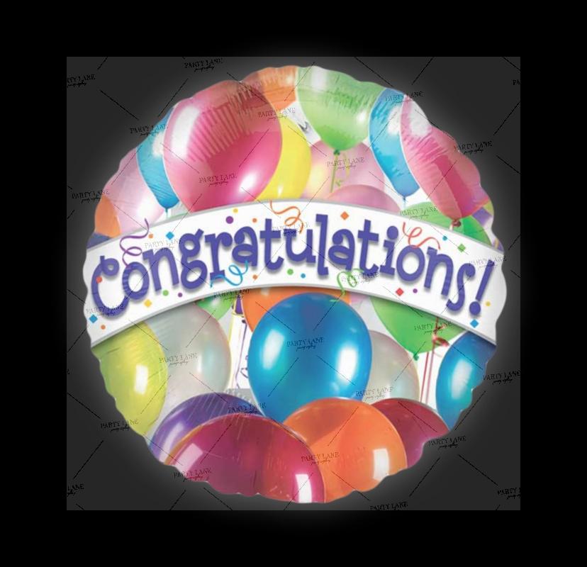 18' Balloon Congratulations!