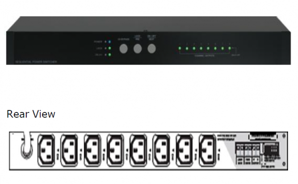 Sequential Power Switcher (SP-5815) PA System Selangor, Malaysia, Kuala Lumpur (KL), Puchong Supplier, Installation, Supply, Supplies | Unique Amp Sdn Bhd