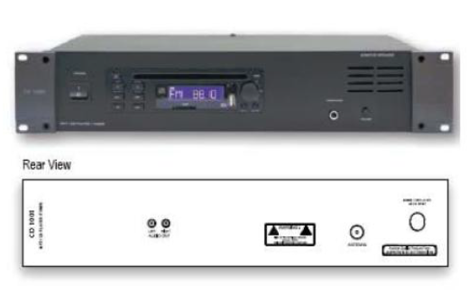 CD/MP3/AM-FM Tuner (CD-5101) PA System Selangor, Malaysia, Kuala Lumpur (KL), Puchong Supplier, Installation, Supply, Supplies | Unique Amp Sdn Bhd