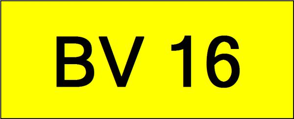 Number Plate BV16 Superb Classic Plate Johor Bahru (JB), Kuala Lumpur, KL, Malaysia. Service   AAA Premium Sdn Bhd