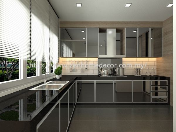 Built in kitchen cabinet Built in works Furniture & Renovation Selangor, Malaysia, Kuala Lumpur (KL), Puchong, Shah Alam Supplier, Suppliers, Supply, Supplies   Zen Home Decor