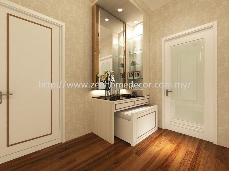Built in dressing cabinet Built in works Renovation works Selangor, Malaysia, Kuala Lumpur (KL), Puchong, Shah Alam Supplier, Suppliers, Supply, Supplies   Zen Home Decor