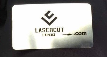 Laser Cutting Name Card Stainless Steel Plate Laser Cutting Selangor, Malaysia, Kuala Lumpur (KL), Sungai Buloh Services | Initial Engineering Marketing Sdn Bhd