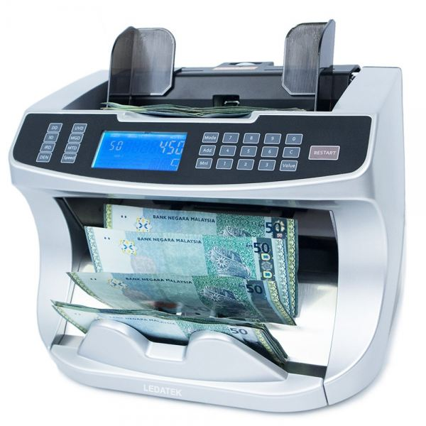 LEDATEK CX-9500 Professional Banknote Counter Banknote Counter Johor Bahru, JB, Johor, Malaysia. Supplier, Suppliers, Supplies, Supply | LEDA Technology Enterprise