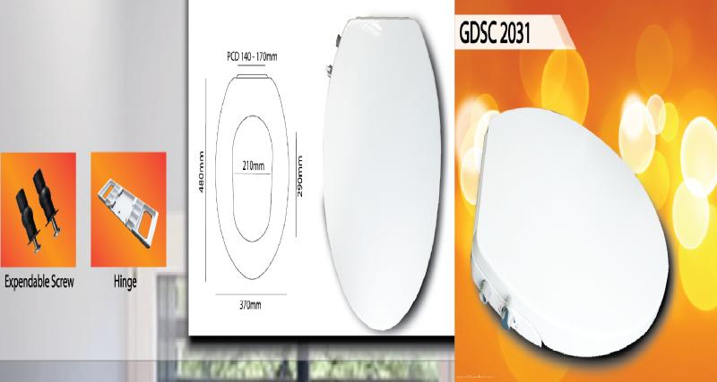 Build in Bidet Spray GDSC 2031 Toilet Seat Cover Malaysia, Selangor, Kuala Lumpur (KL), Banting Supplier, Suppliers, Supply, Supplies   Goldolphin (M) Sdn Bhd