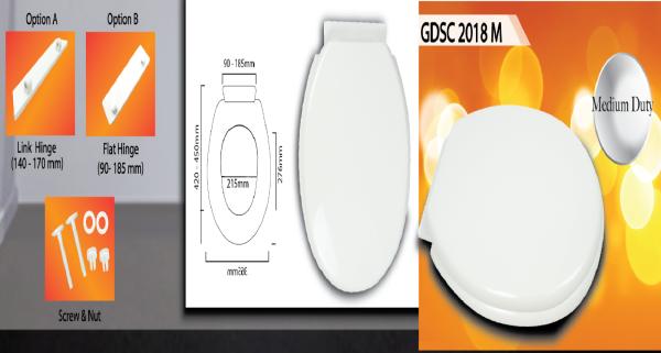 Medium Duty GDSC 2018 M Toilet Seat Cover Malaysia, Selangor, Kuala Lumpur (KL), Banting Supplier, Suppliers, Supply, Supplies | Goldolphin (M) Sdn Bhd