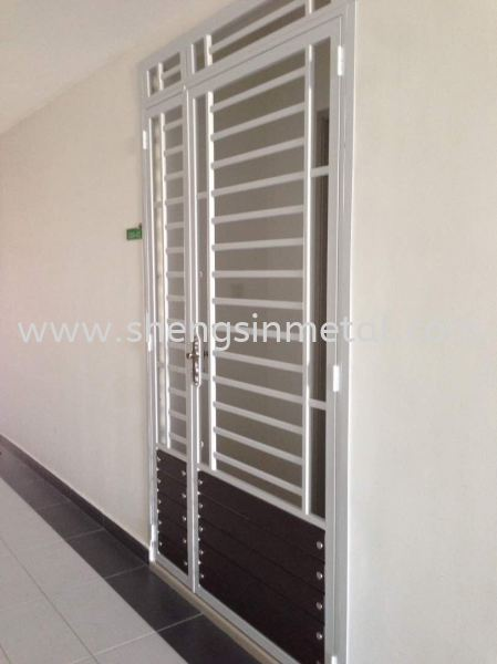 Both Side Open Door Metal Work Johor Bahru, JB, Skudai, 仟表 Design, Installation, Supply | Sheng Sin Metal Work & Enterprise