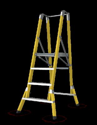 Branach WorkMaster 450mm Step Platform