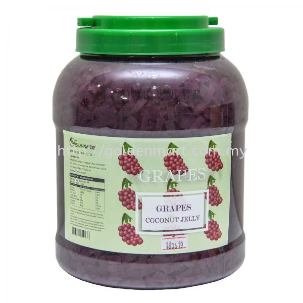 GRAPE JELLY (3KG) FRUIT JELLY TOPPING Selangor, Malaysia Supplier, Supply | Golden Mart