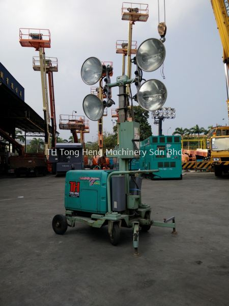 4 Bulb Tower Flood Light Flood Light Johor Bahru (JB), Masai, Malaysia Rental, For Rent, Supplier, Supply | TH Tong Heng Machinery Sdn Bhd