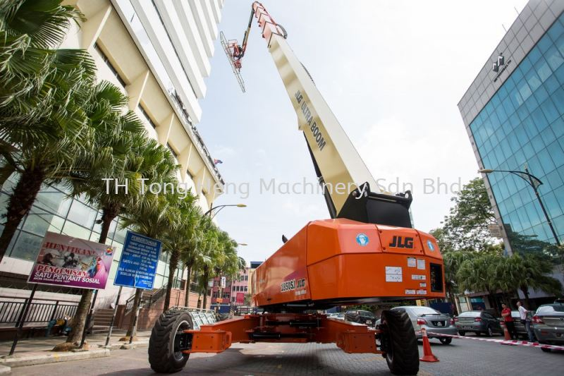 Diesel Powered Straight Boom Lift JLG Boom Lift Johor Bahru (JB), Masai, Malaysia Rental, For Rent, Supplier, Supply | TH Tong Heng Machinery Sdn Bhd