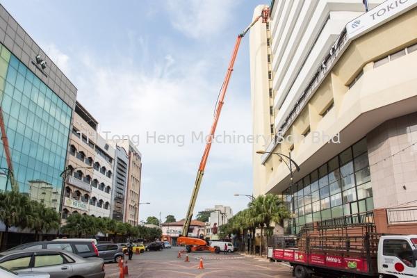 Diesel Powered Straight Boom Lift JLG Boom Lift Johor Bahru (JB), Masai, Malaysia Rental, For Rent, Supplier, Supply   TH Tong Heng Machinery Sdn Bhd