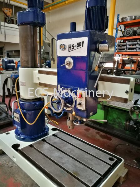 USED CHINA RADIAL DRILL H5-50Y Drilling Machine Johor Bahru (JB), Malaysia, Mount Austin Used, Reconditioned, Supplier, Supply | ECS Machinery Service