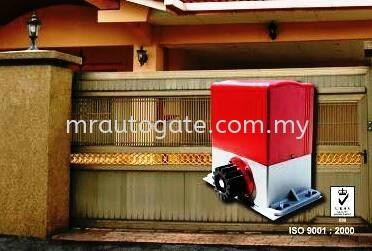E8 E1000 Sliding Autogate System